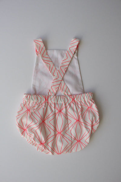 Summer Romper - Neon Dreams in Pink