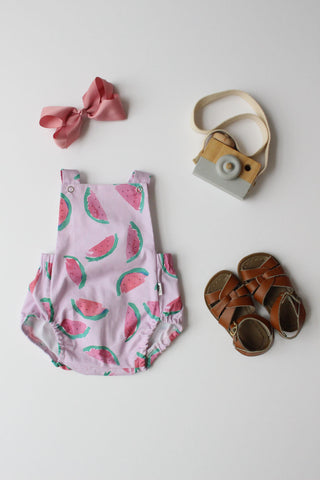 Summer Romper - Watermelon (Pink)