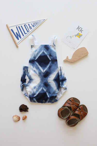 Summer Romper - Tie-Dye (Light)