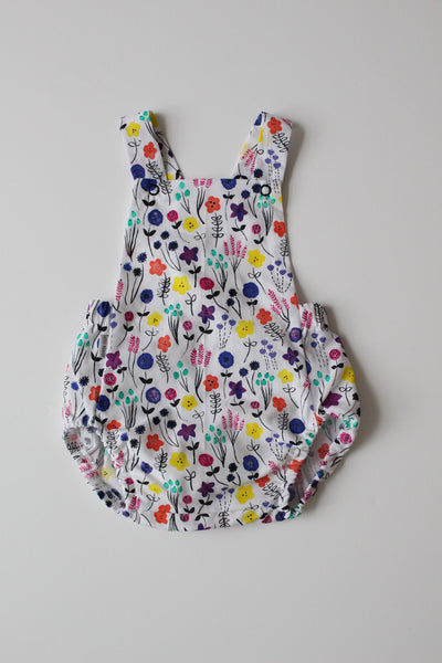 Summer Romper - Flower Fields