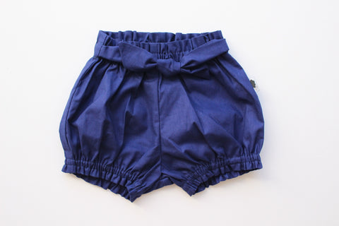 Belted Bloomers - Navy