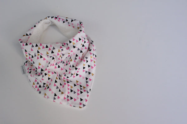 Bandana Bib - Pretty Triangles