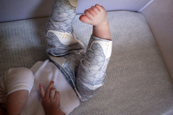 100% Cotton Harem Leggings - Whale Tale - Little Dreamer Australia