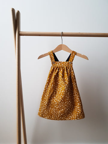 Pinafore Dress - Marigold