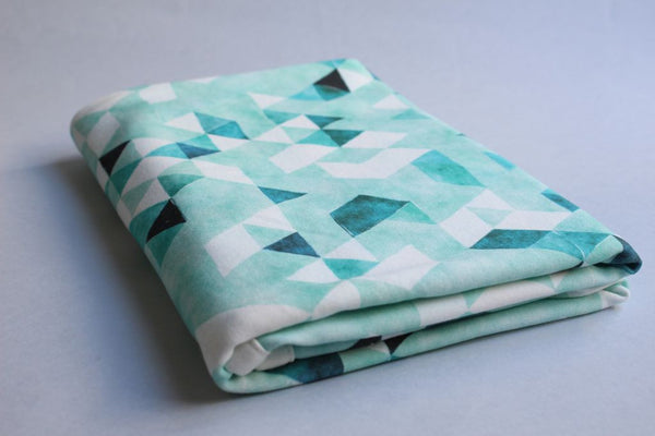 Organic Baby Swaddle Blanket - Sea Dreams - Little Dreamer Australia