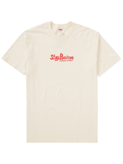 Supreme Stay Positive Tee NATURAL [FW20]