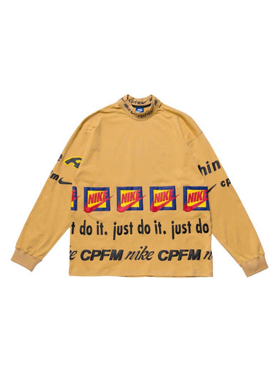 Nike x Cactus Plant Flea Market L/S T-Shirt Mustard Yellow - PRIOR