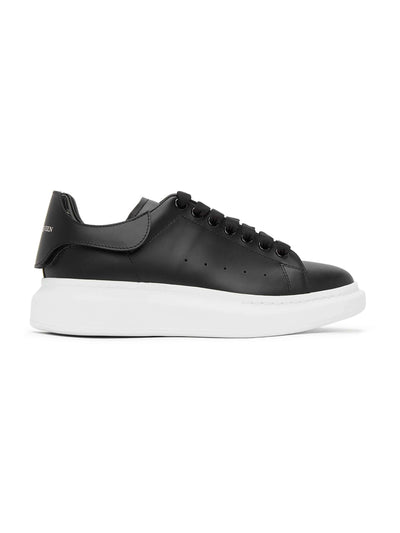 Alexander Mcqueen Oversized Changeable Tab Black Sneakers - PRIOR