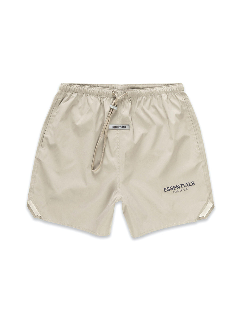 Fear Of God Essentials 3M Logo Volley Shorts Olive - PRIOR