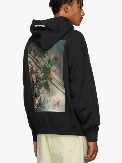 FOG Essentials Photo Hoodie Black - Prior