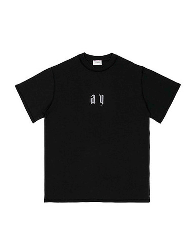 ASKYURSELF Lost In Paradise Reflective Logo Tee - PRIOR