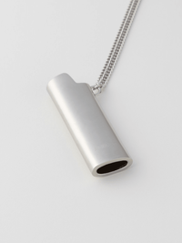 Ambush Lighter Case Necklace (Silver) Large - PRIOR