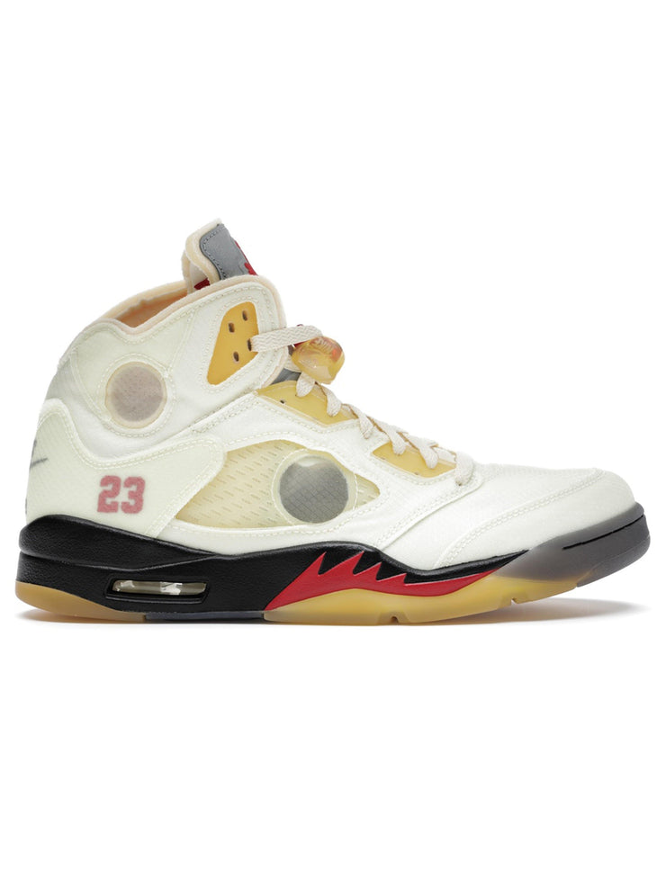 Air Jordan 5 Retro OFF-WHITE Sail - Prior