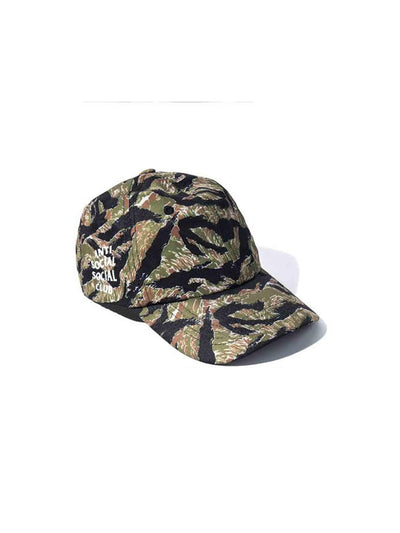 Anti Social Social Club Weird Cap Tiger Camo - PRIOR