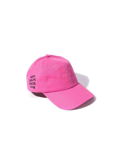 Anti Social Social Club Weird Cap Hot Pink - PRIOR