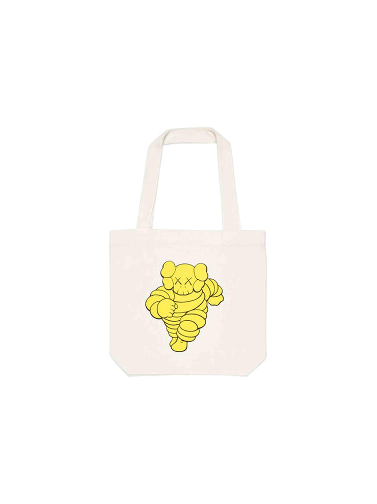 KAWS Chum Tote Bag Yellow - PRIOR