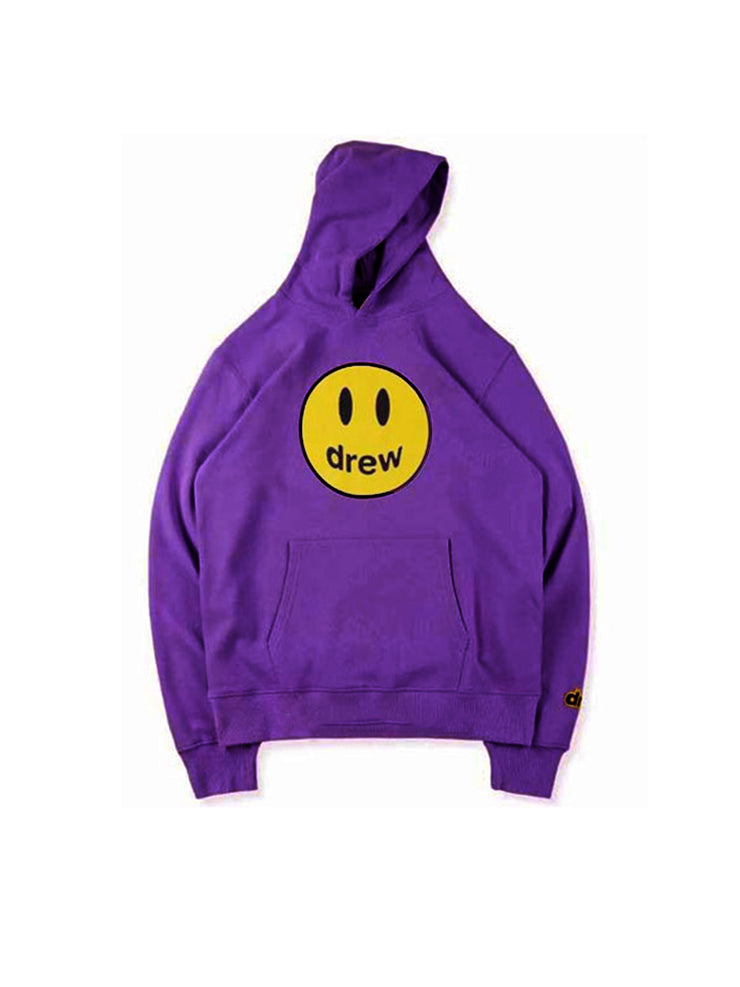 Drew House Mascot Hoodie Purple - PRIOR