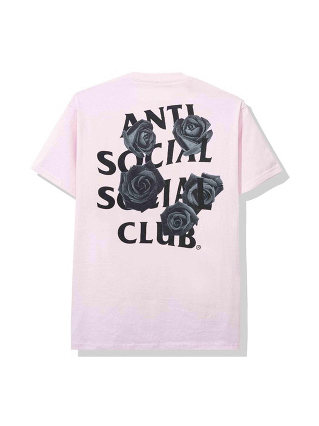 Anti Social Social Club Bat Emoji Tee Pink - PRIOR