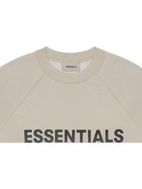 FOG ESSENTIALS 3D Silicon Applique Crewneck Tan