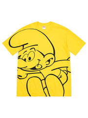 Supreme Smurfs All Over Tee Yellow [FW20] - PRIOR