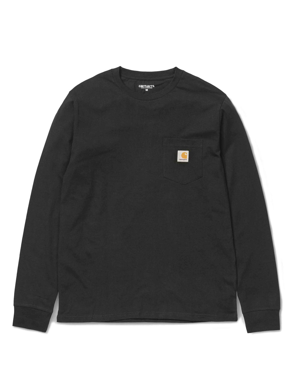 Carhartt Pocket Long Sleeve Tee Black - PRIOR