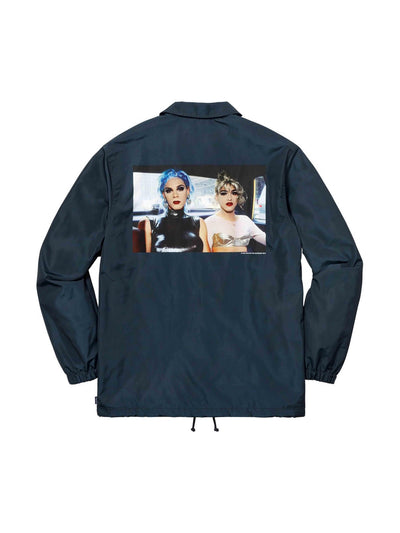 Supreme Nan Goldin Coaches Jacket Navy - PRIOR