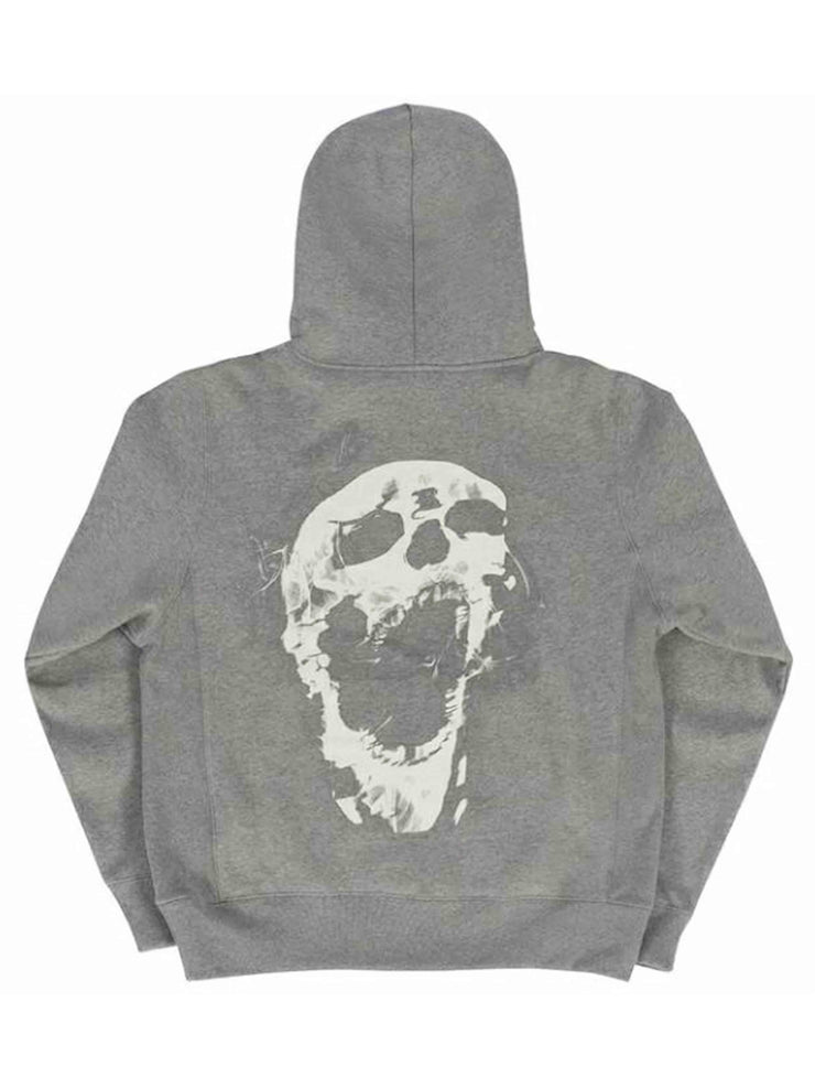 Revenge Smoke Hoodie Heather Grey - Prior