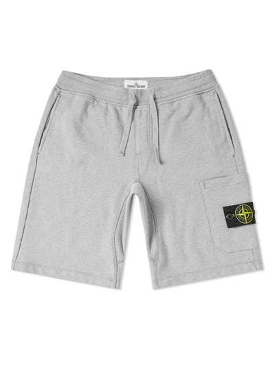 Stone Island Pocket Sweat Shorts Grey - Prior