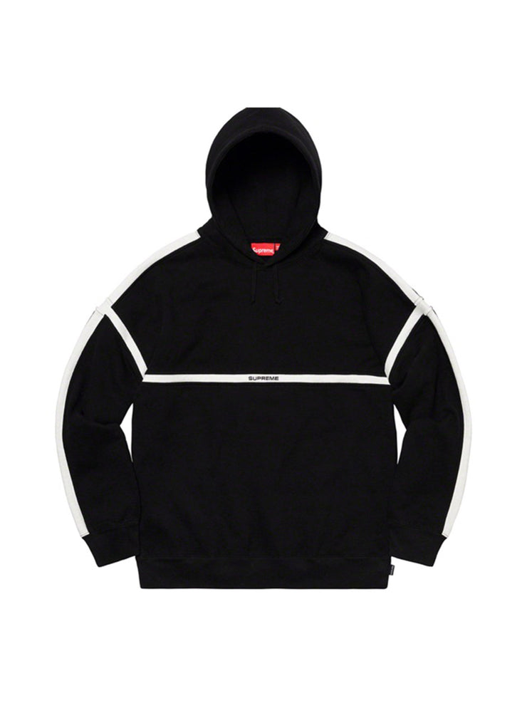 Supreme Warm Up Hooded Sweatshirt Black [SS20] - PRIOR