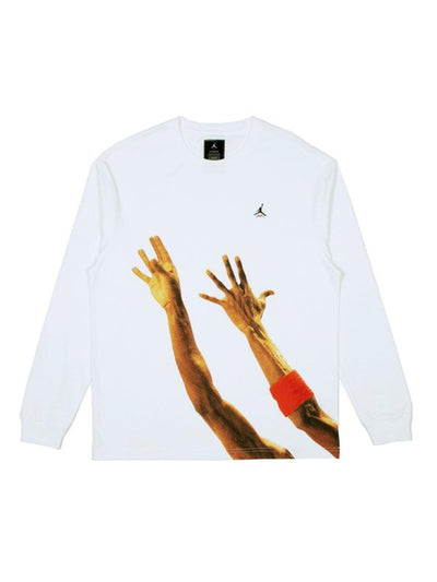 Jordan x Union The J L/S T-Shirt White - PRIOR