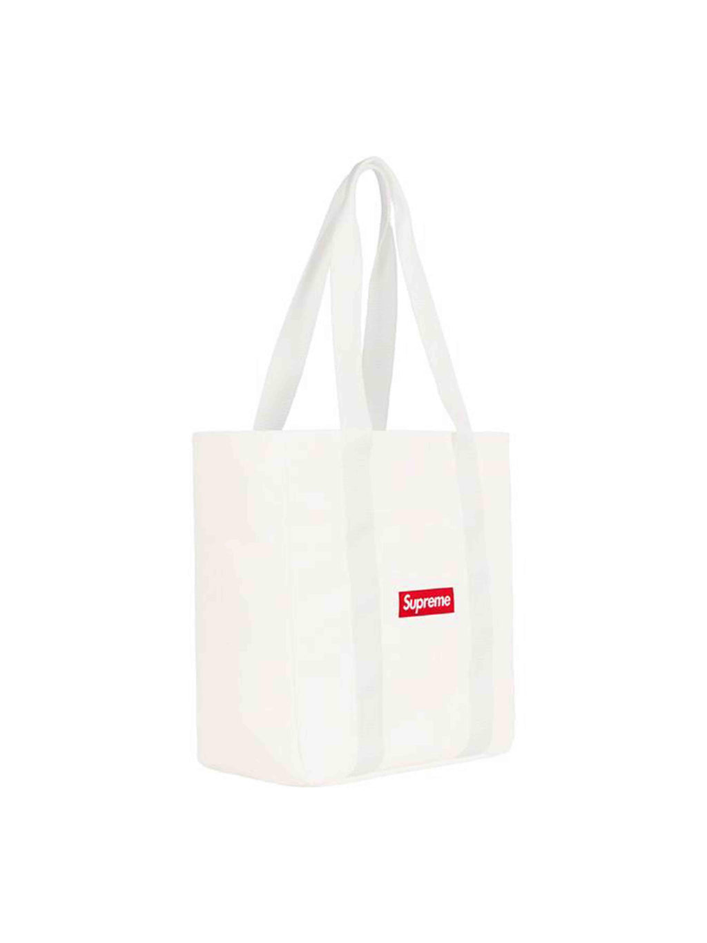 Supreme Canvas Tote White [FW20] - PRIOR