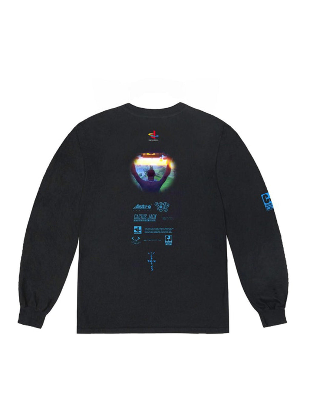 Travis Scott The Scotts Cj Portal L/S Tee Black - PRIOR