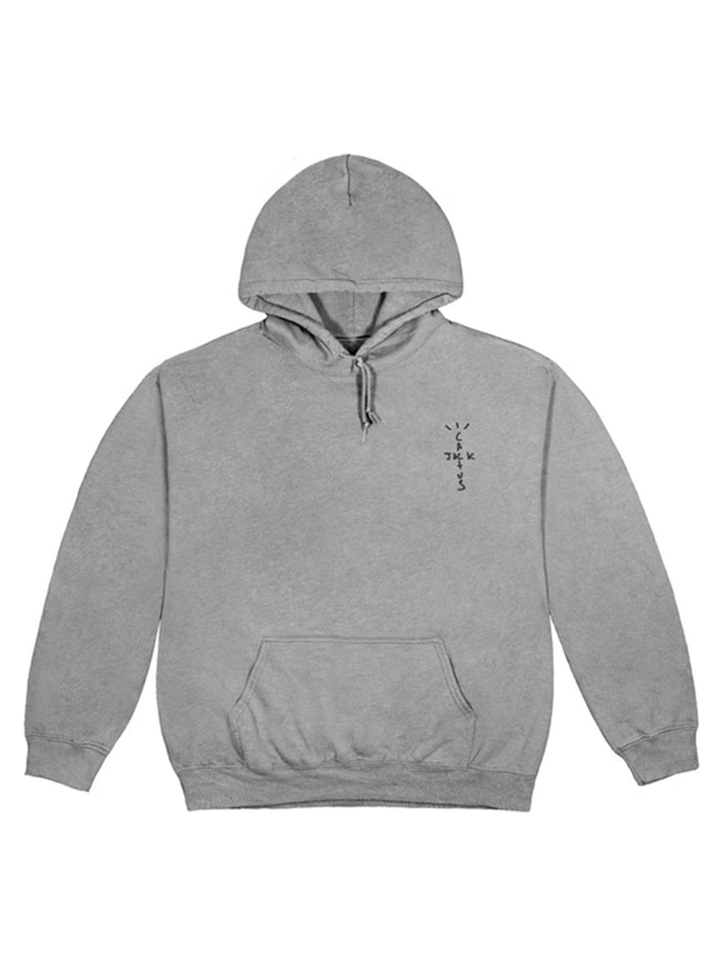 Travis Scott CJ Astro Hoodie Washed Grey - PRIOR