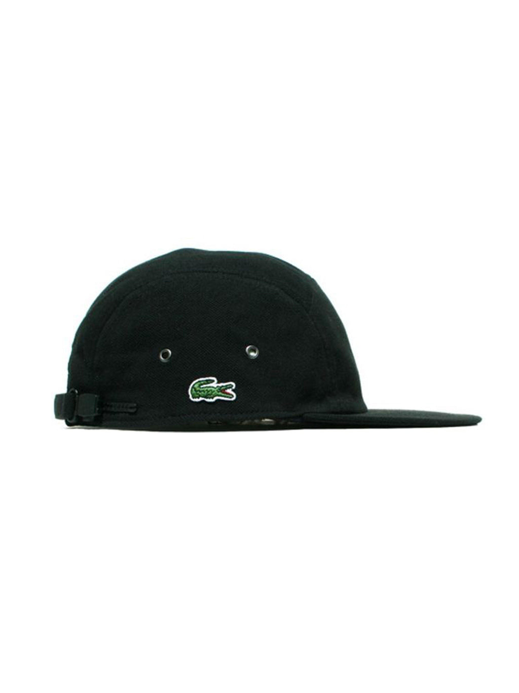 Supreme Lacoste Pique Knit Camp Cap Black - PRIOR