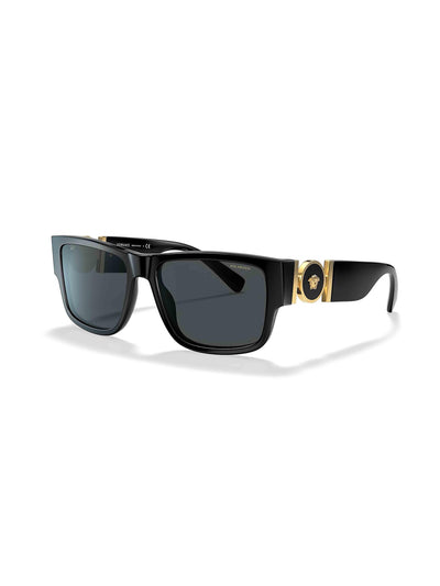 Versace Grey-Black & Black Polarised Sunglasses - PRIOR