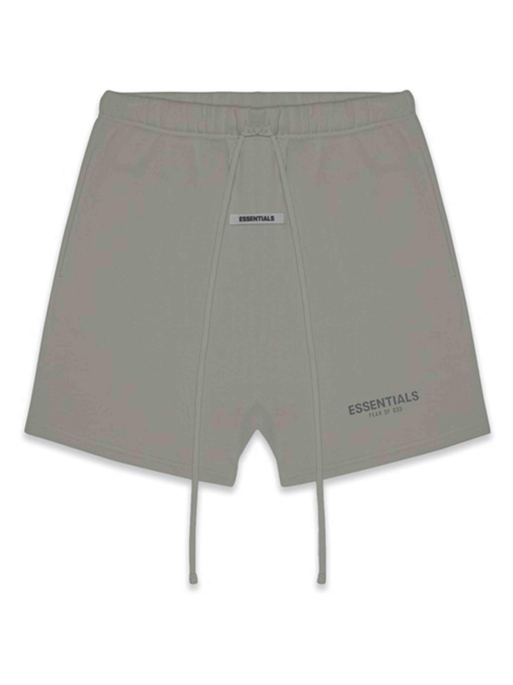 FOG Essentials Reflective Logo Sweat Shorts Cement - PRIOR