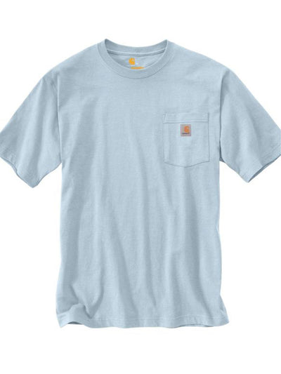 Carhartt Pocket Tee Soft Blue - PRIOR