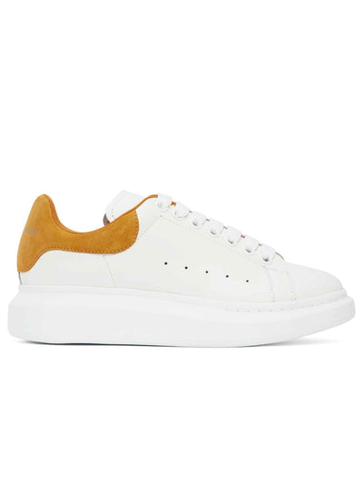 Alexander Mcqueen Oversized White/Yellow Sneakers - Prior