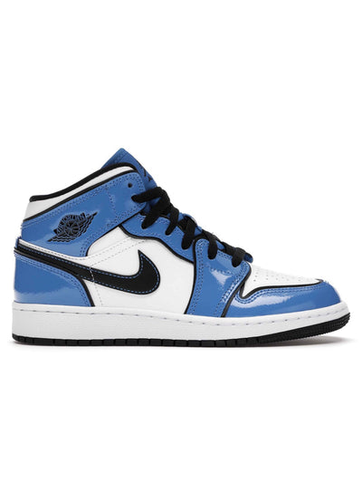 Air Jordan 1 Mid Signal Blue - Prior