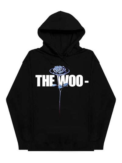 Pop Smoke x Vlone The Woo Hoodie Black - PRIOR