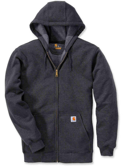 Carhartt Thermal Zip Hoodie Carbon Heather - PRIOR