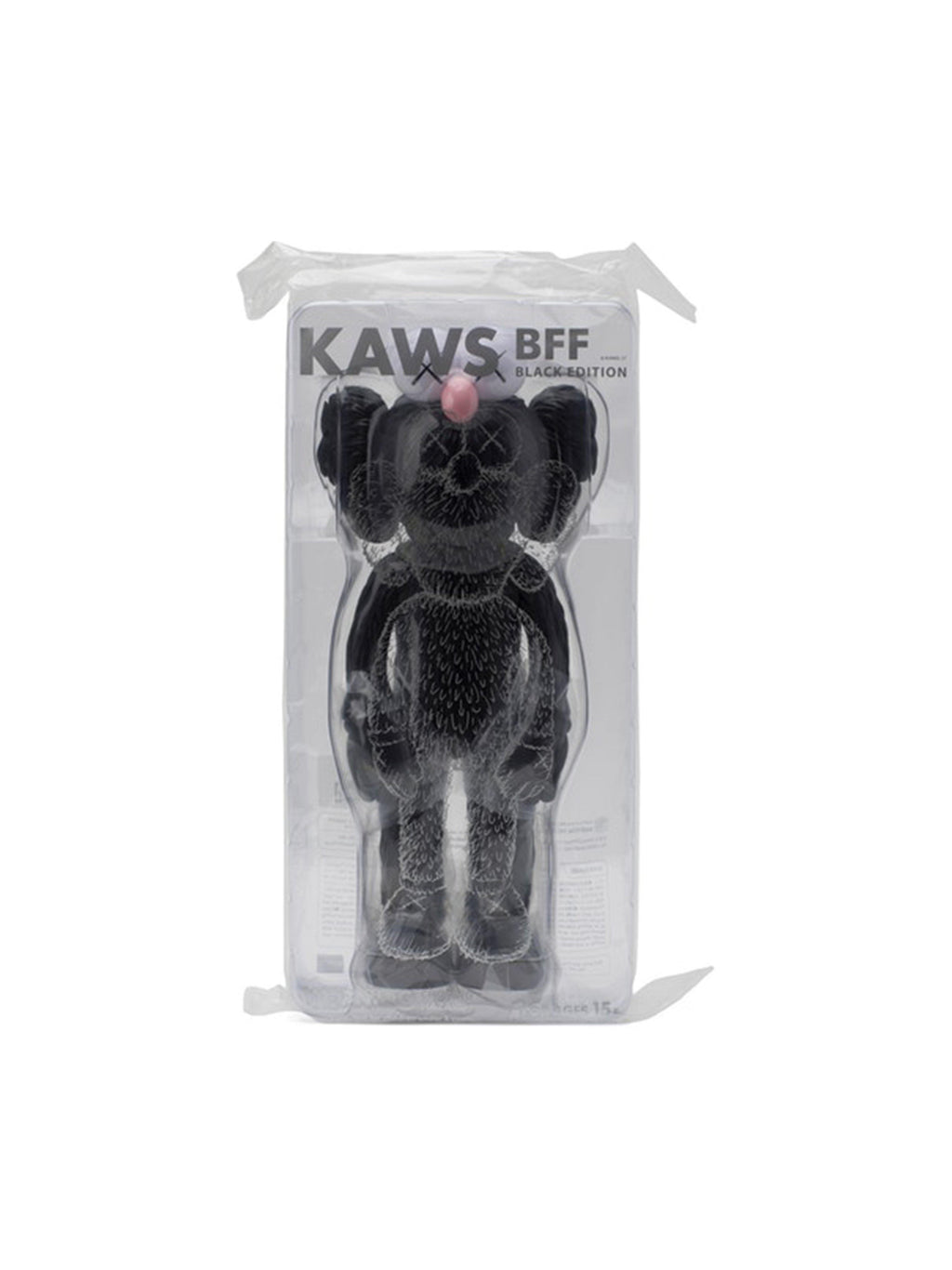 KAWS BFF Open Edition Vinyl Figure Black - PRIOR