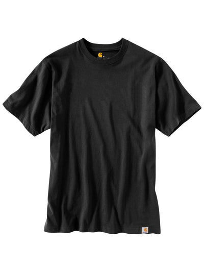 Carhartt Solid Tee Black - PRIOR
