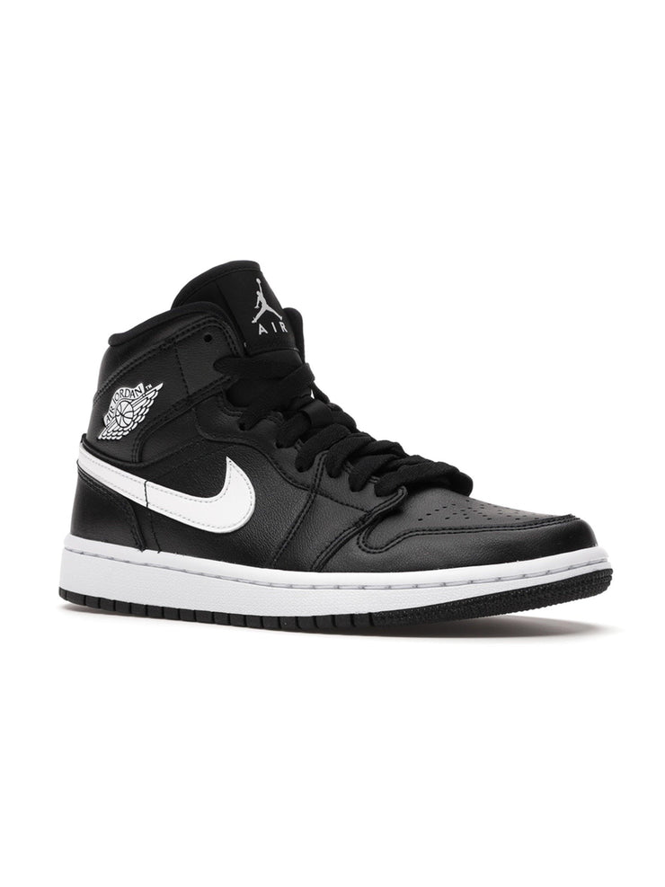 Jordan 1 Mid Black White (W) - Prior