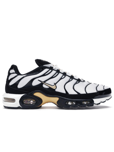 Nike Air Max Plus TN White Black Metallic Gold - Prior