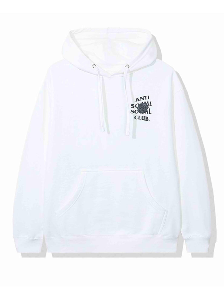 Anti Social Social Club Bat Emoji Hoodie White - PRIOR