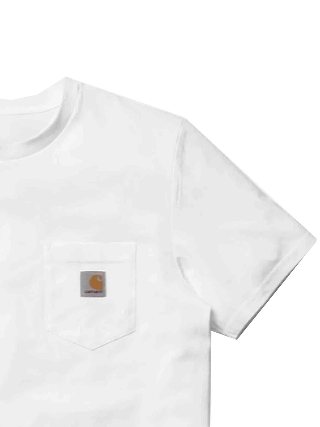 Carhartt Pocket Tee White - PRIOR