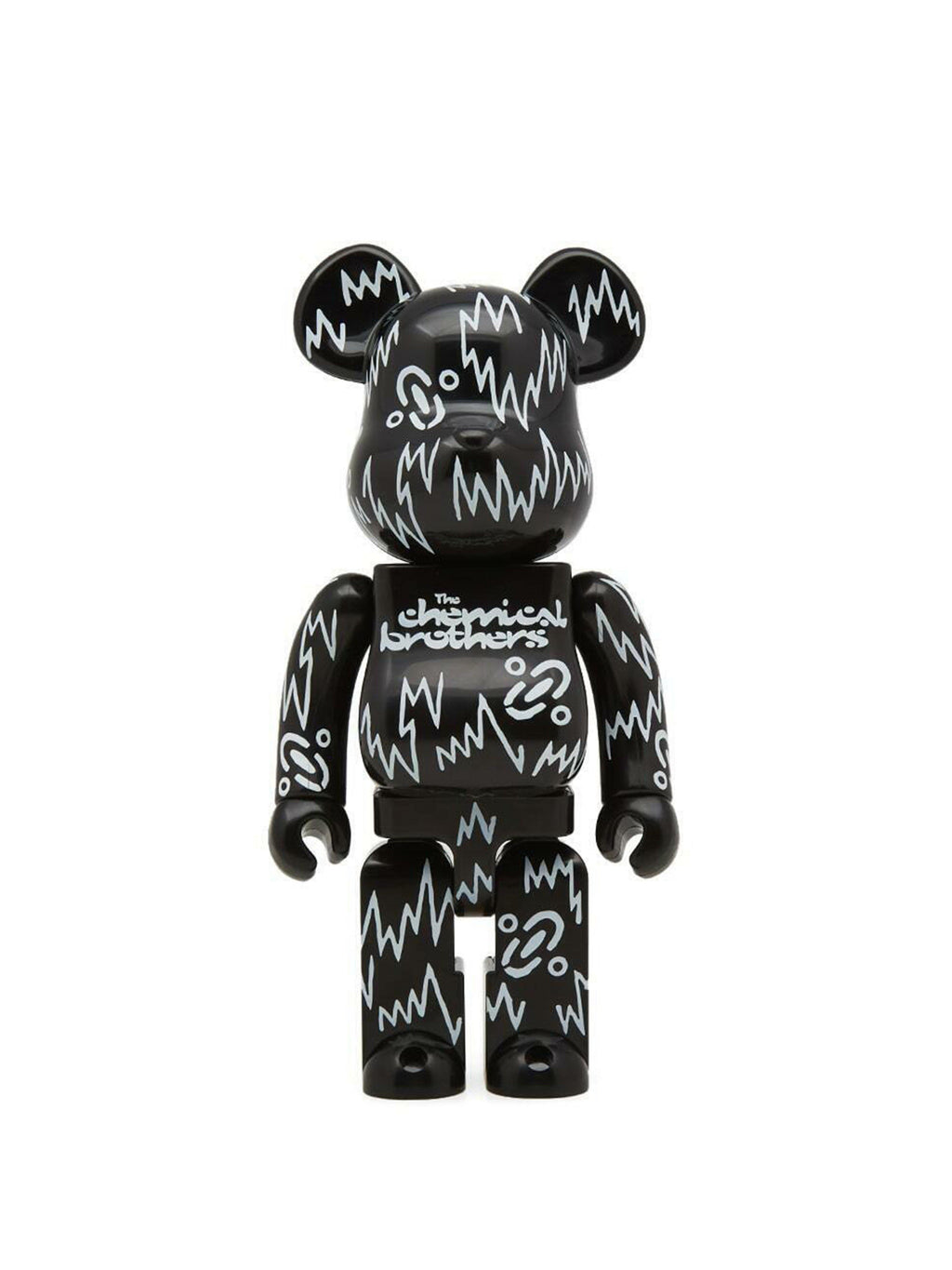 Bearbrick The Chemical Brothers 400% Black