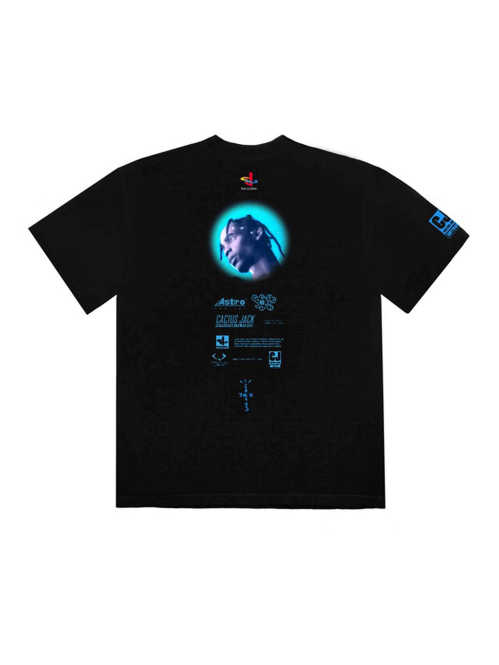 Travis Scott CJ Portal T-Shirt Black - PRIOR