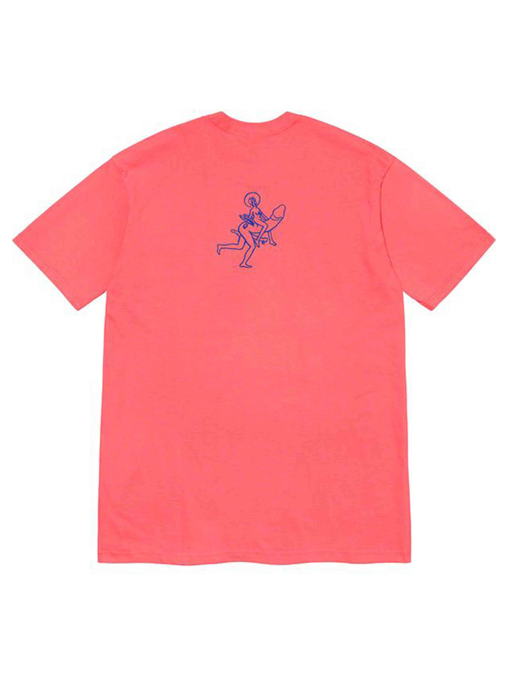 Supreme Dicks Tee Bright Coral [FW20]